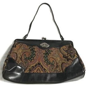 Bueno Carpet Tapestry Bag Vintage Inspired Purse